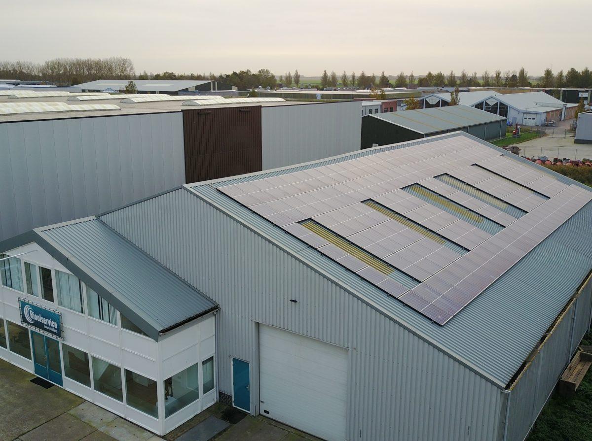 Rioolservice Noord Holland heeft 138 zonnepanelen