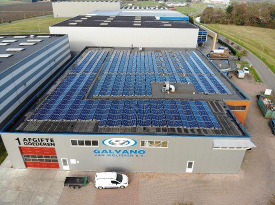 Galvano wekt alle stroom op die het nodig heeft voor de bedrijfsprocessen